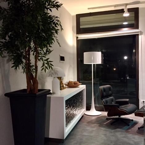 Esprit nouveau illuminazione 306f spun l f metallo lampade da terra design illuminazione a - Lampade da terra design outlet ...