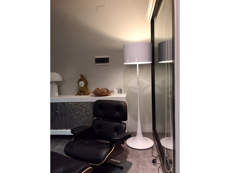 Esprit nouveau illuminazione 306f spun l f metallo lampade da terra design - Lampade da terra design outlet ...