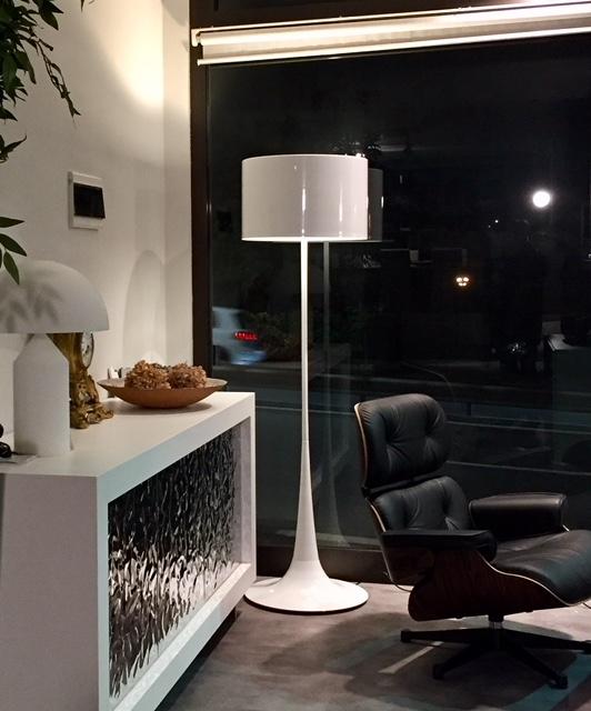 Esprit nouveau illuminazione 306f spun l f metallo - Lampade da terra design outlet ...