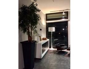 Esprit Nouveau Illuminazione/ Lampada da terra - Piantana, Art.306 F - Modello Spun L.F. in Metallo e alluminio verniciato Bianco - Design