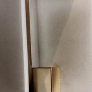 Illuminazione da parete ( appliques ) o soffitto ( plafoniera ) Fabas Luce Bard 3394-21-225 in Metallo con profilo perimetrale Oro opaco Lampade parete Design