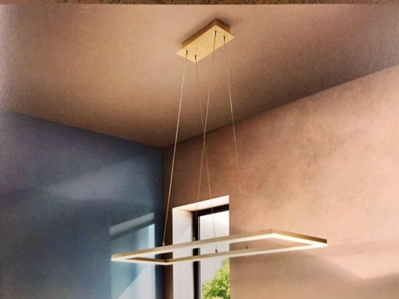 Lampade Da Soffitto Design : Illuminazione fabas luce bard metallo lampade da