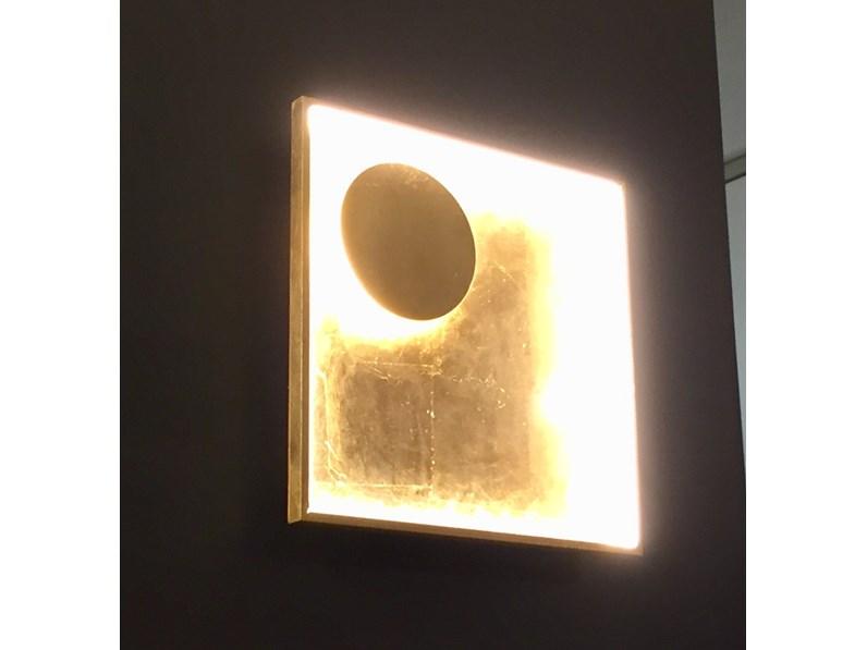 Illuminazione fabas luce fano 3421 23 323 metallo lampade da parete