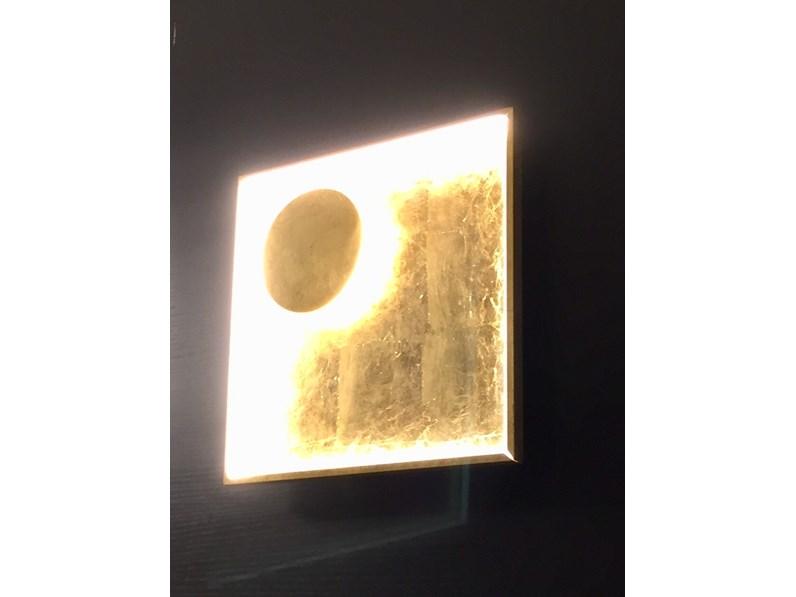 Illuminazione fabas luce fano 3421 26 323 metallo lampade da parete