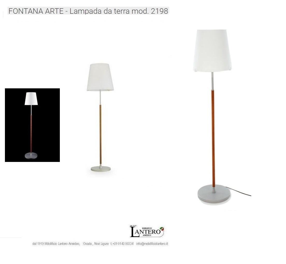 Illuminazione fontana arte lampada da terra art 2198ta for Cappello lampada fontana arte