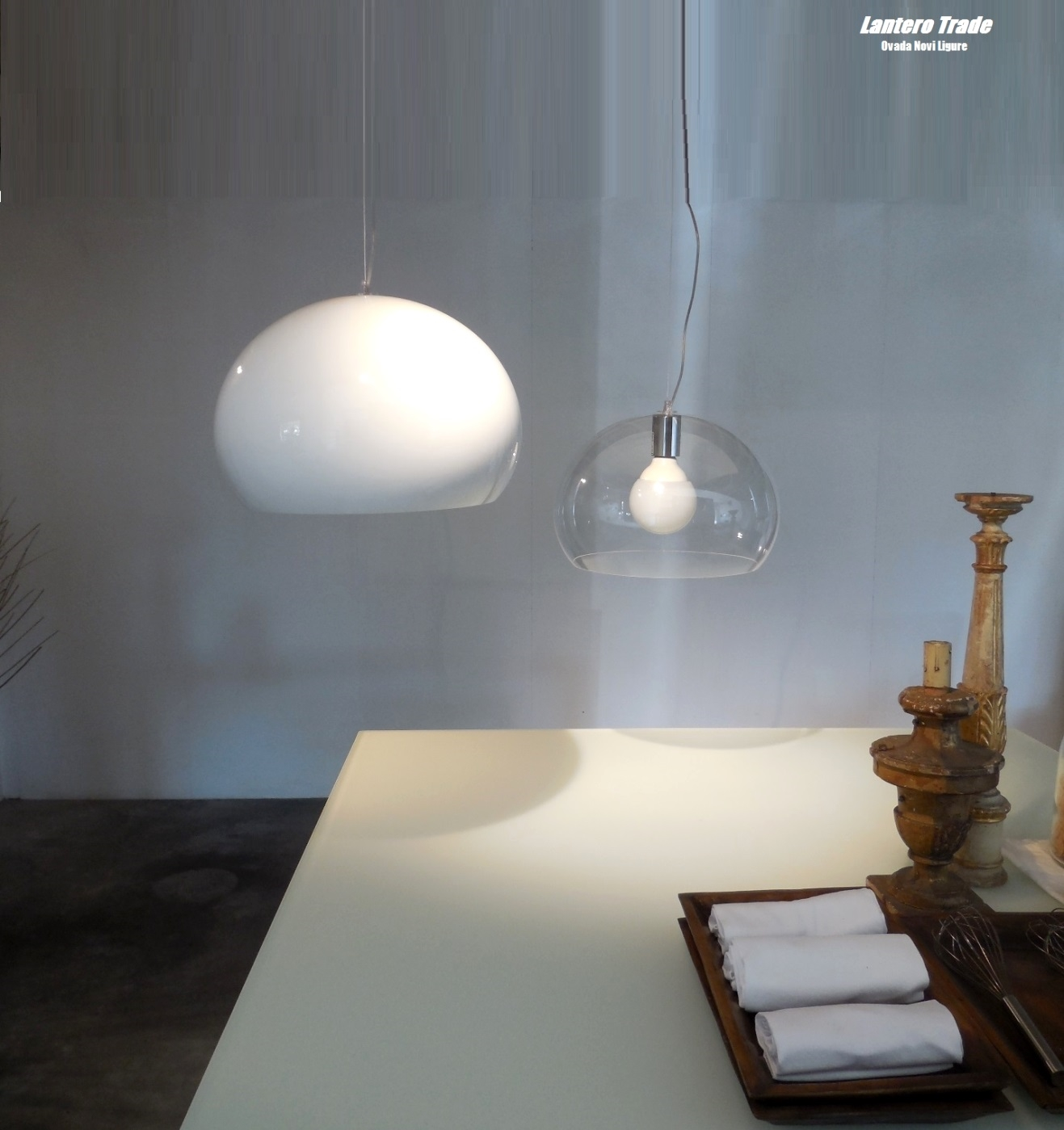 Illuminazione Kartell Lampada A Sospensione Fly Small Led