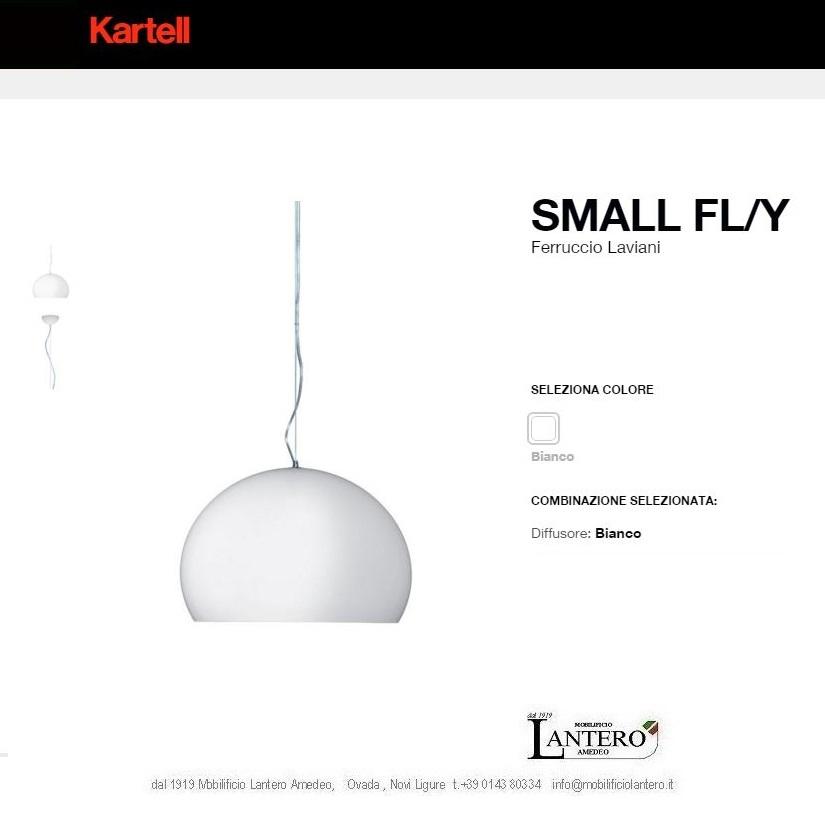 Illuminazione Kartell Lampada a sospensione fly small led , vendita online kartell Lampade a ...