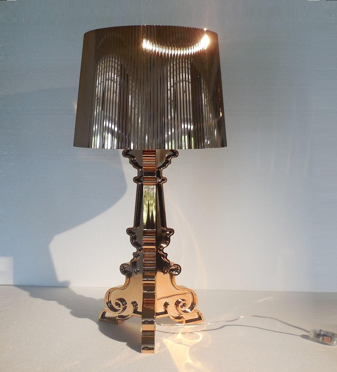 Illuminazione kartell bourgie rame lampada da tavolo for Lampade kartell outlet