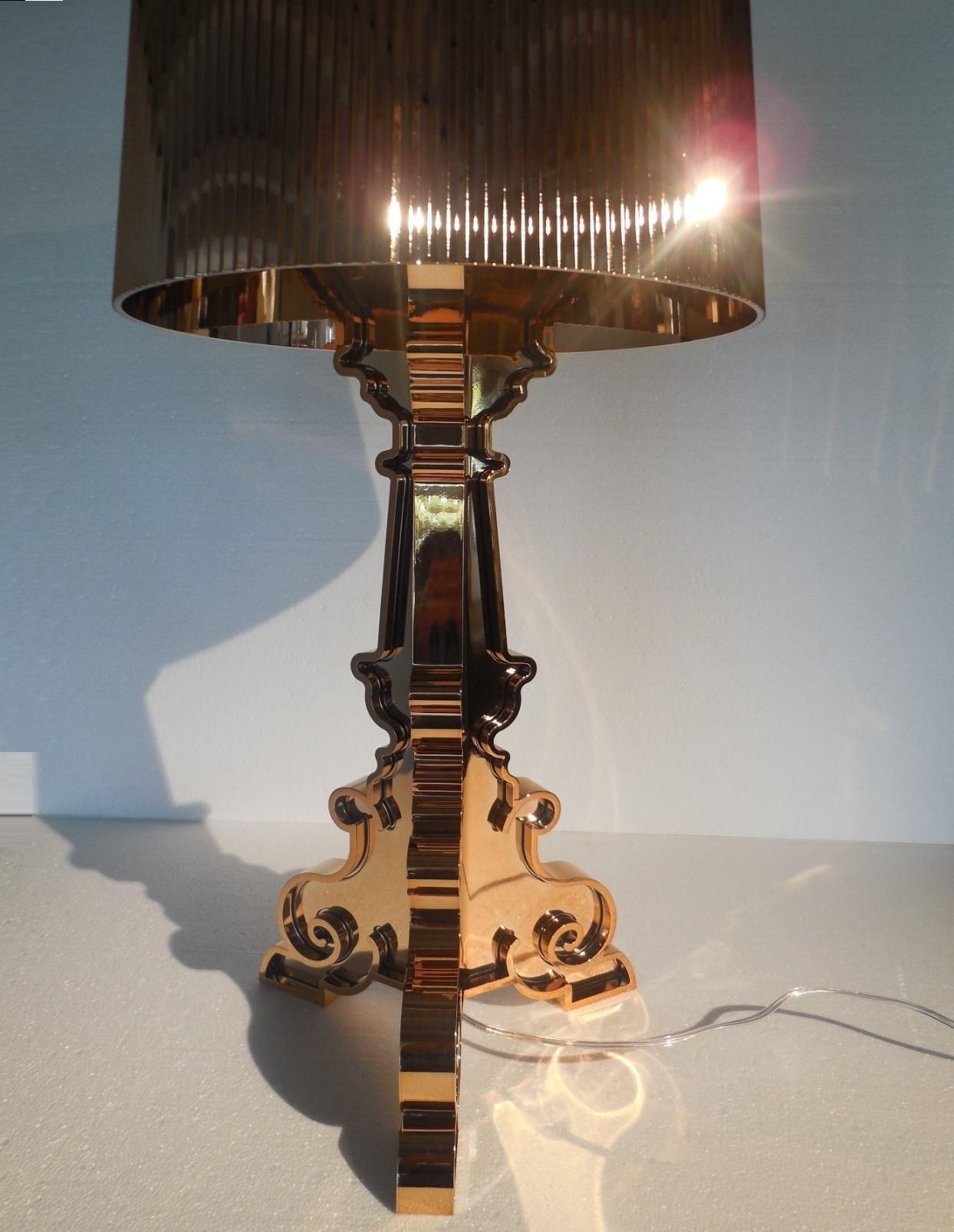 Illuminazione Kartell Bourgie rame, lampada da tavolo kartell Plastica Lampade da tavolo ...