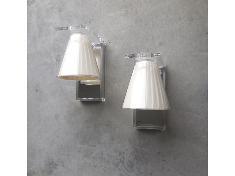 Plafoniere Da Parete A Led : Kartell illuminazione lampada da parete light air applique led