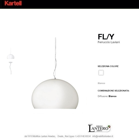 Illuminazione Kartell Shop online kartell , fly led , lampada a sospensione