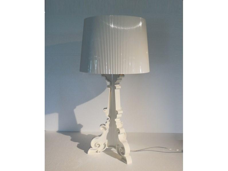 Illuminazione Kartell 9076 lampada bourgie white lampada kartell ...