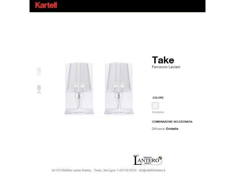 Illuminazione kartell lampade kartell take vendita for Lampade kartell outlet