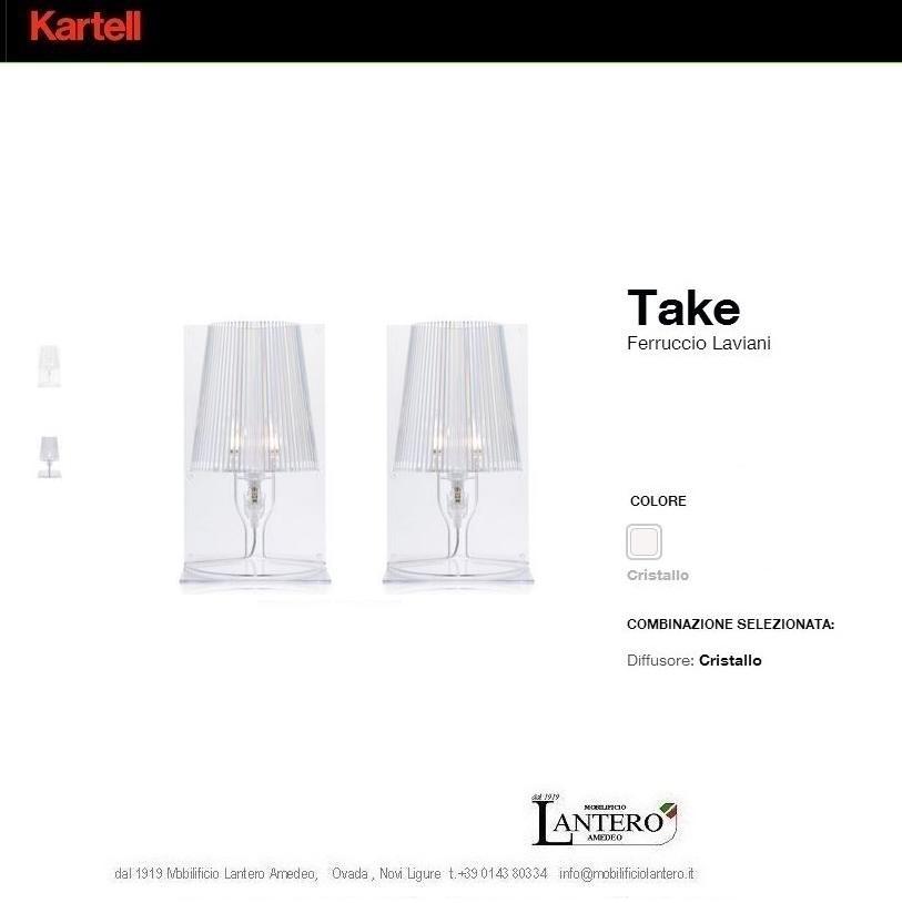 Illuminazione Kartell Lampade kartell, take, vendita online kartell - Illumin...