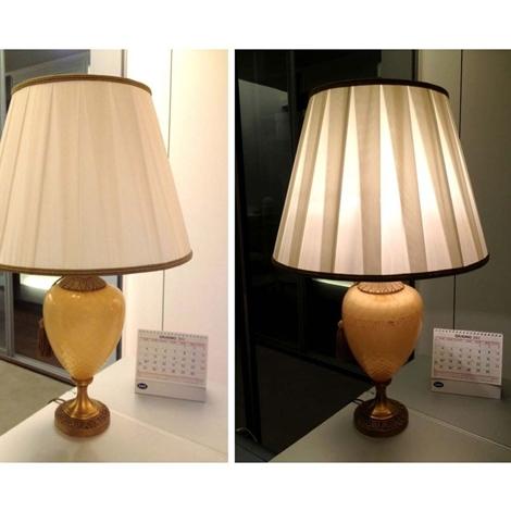 Lampada a artigianale offerta illuminazione a prezzi - Lampada da tavolo artigianale ...