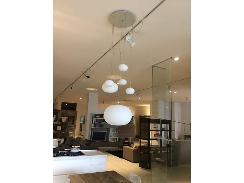 Fontana Arte Lampade.Lampada A Sospensione Bianca Fontana Arte Con Un Ribasso Del 19
