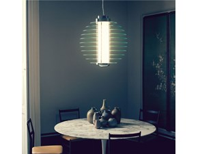 Lampada a sospensione Fontana arte Fontana arte 0024 stile Design con forte sconto