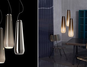 Lampada a sospensione Glass drop Foscarini in Offerta Outlet