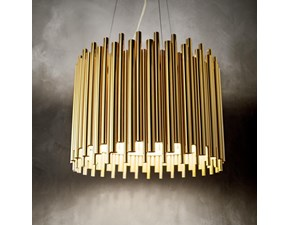 Lampada a sospensione Ideal lux Pan sp5 Satinato a prezzi outlet