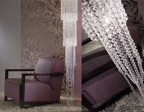 Lampada a sospensione in cristallo Versailles swing III Murtarelli salotti & design