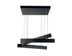 Lampada a sospensione in metallo Desk sp3 nero Ideal lux a prezzo Outlet