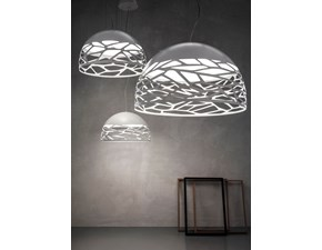Lampada a sospensione in metallo Kelly Italian light production in Offerta Outlet