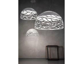 Lampada a sospensione in metallo Kelly Italian light production in Offerta Outlet