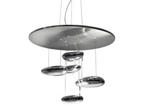 Lampada a sospensione in metallo Mercury mini Artemide a prezzo Outlet