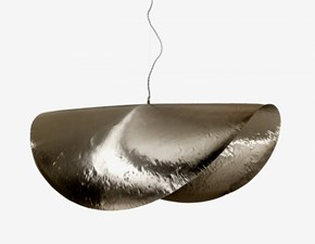 Lampada a sospensione in metallo Silver 96 Gervasoni a prezzo scontato