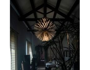 Lampada a sospensione in metallo Sun–light of love Foscarini in Offerta Outlet