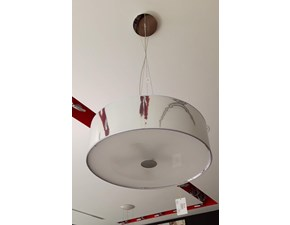Lampada a sospensione in plastica Woody Ideal lux in Offerta Outlet