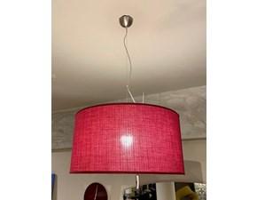 Lampada a sospensione in tessuto Penta sospensione cylinder  Pentalight in Offerta Outlet