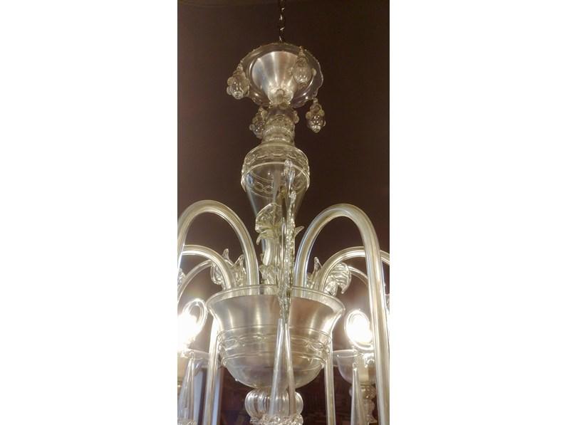 Lampade In Vetro Di Murano Moderne : Lampada a sospensione in vetro di murano di barovien toso in offerta