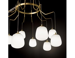 Lampada a sospensione in vetro Karousel sp6 Ideal lux in Offerta Outlet