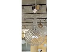 Lampada a sospensione in vetro Stili d'arte Artigianale in Offerta Outlet