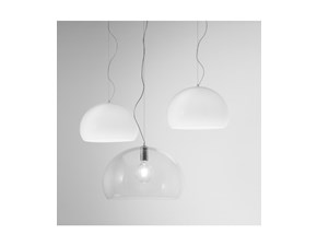 Lampada a sospensione Kartell Small fly stile Moderno a prezzi outlet