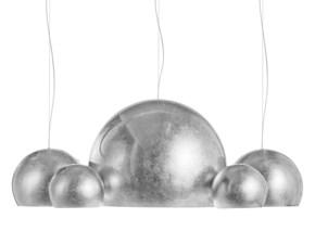 Lampada a sospensione Opinion ciatti La lampada ceiling Argento a prezzi outlet