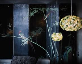 Lampada a sospensione stile Design Bloom Kartell in offerta outlet