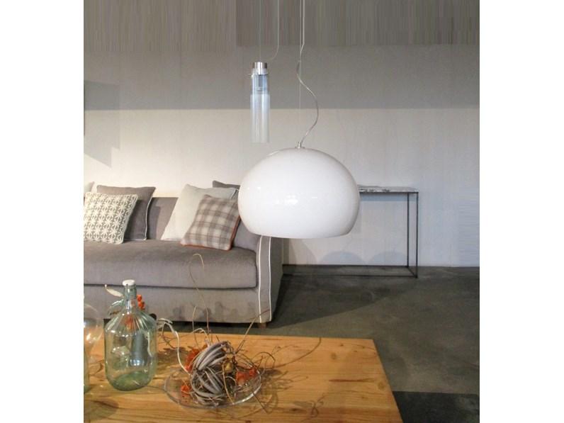 Lampada a sospensione stile design fly small di kartell a prezzi