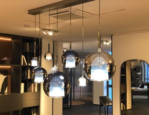 Lampada a sospensione stile Design Glo Penta illuminazione in saldo