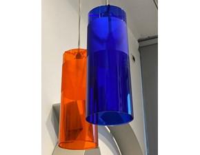 Lampada a sospensione stile Moderno Easy blu Kartell in offerta