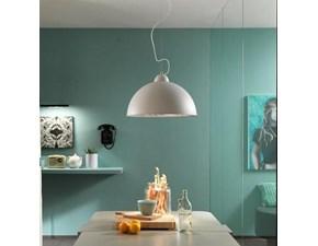 Lampada a sospensione Stones Antenna art la/071/a Bianco a prezzi outlet