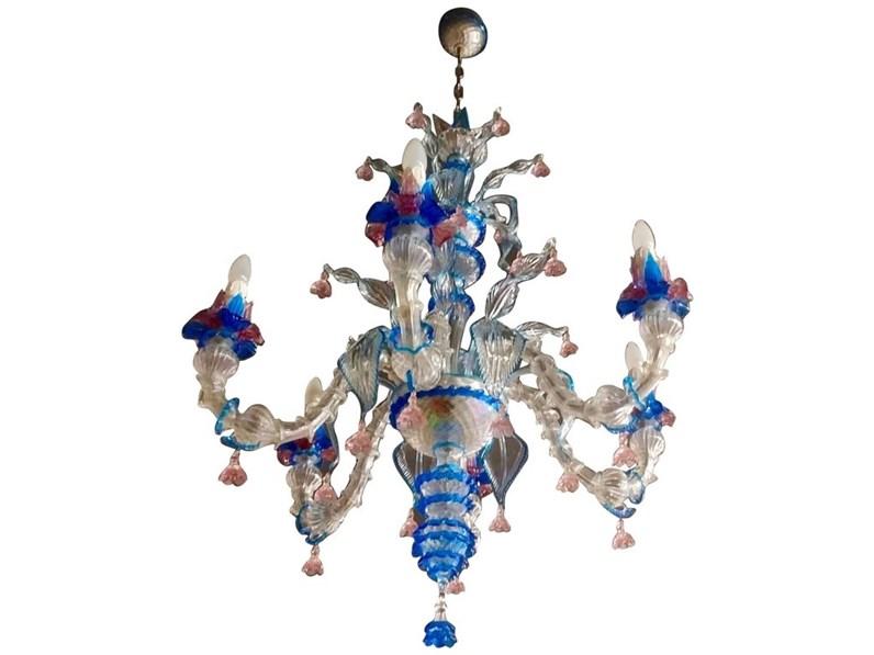 Lampada a sospensione vetro di murano by Andromeda in offerta