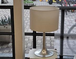 Lampada Artigianale Lampada argento e bianco a PREZZI OUTLET