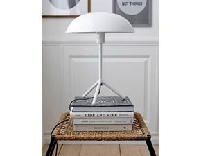 Lampada Artigianale Tablelamp tripod white a PREZZI OUTLET