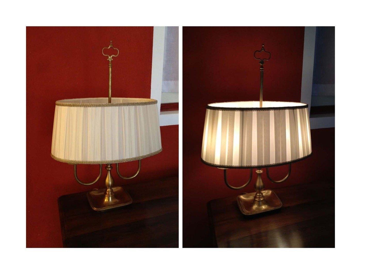 Lampada b artigianale offerta illuminazione a prezzi - Lampada da tavolo artigianale ...