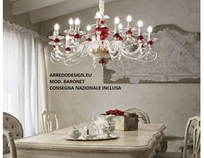 Lampada Baronet * Ideal lux in OFFERTA OUTLET