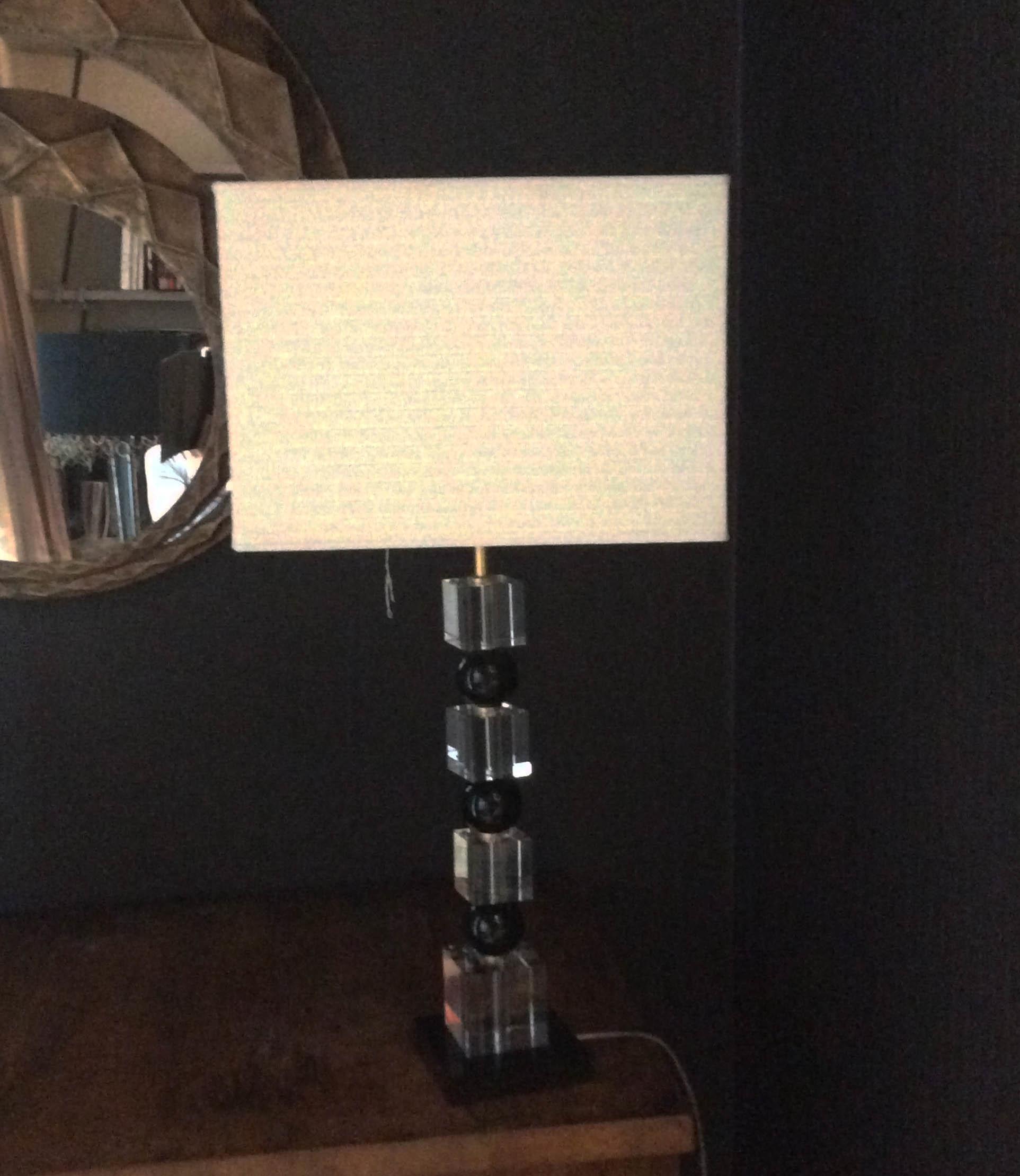 Illuminazione lampada con paralume lampade da tavolo for Lampade da appoggio