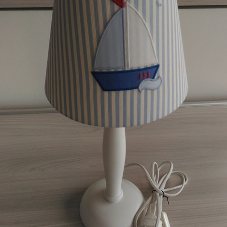 Lampada da comodino per cameretta barca a vela illuminazione a prezzi scontati - Lampada per cameretta ...