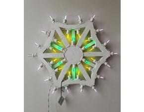 Lampada da parete Abc Mod quadrifoglio Bianco in offerta